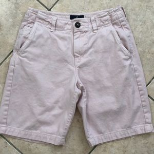 American Eagle AEO classic fit pale pink shorts